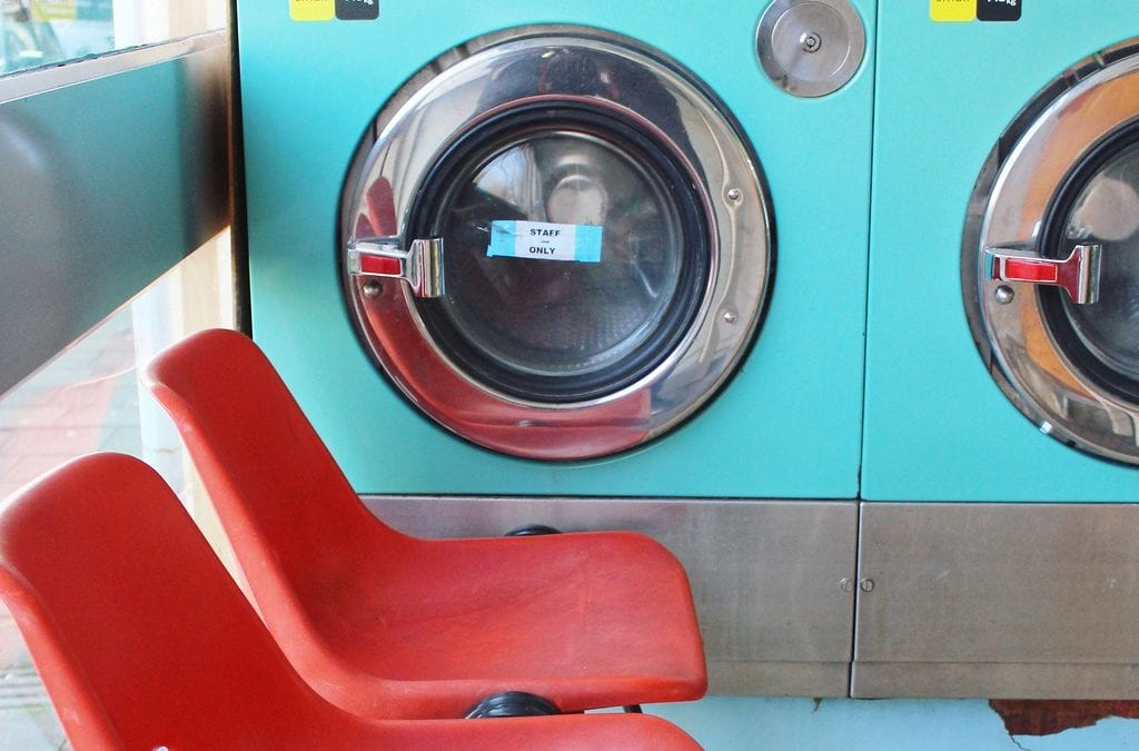Launderette open for business