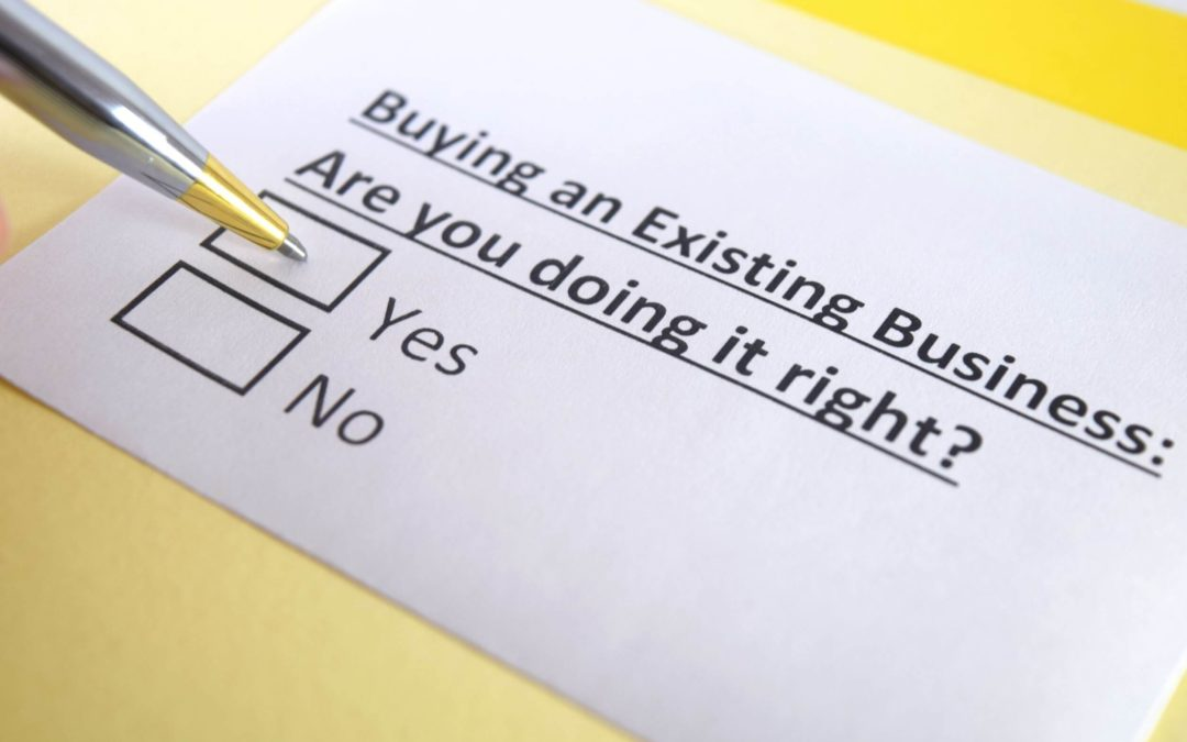Should you start your own company or buy an existing business?